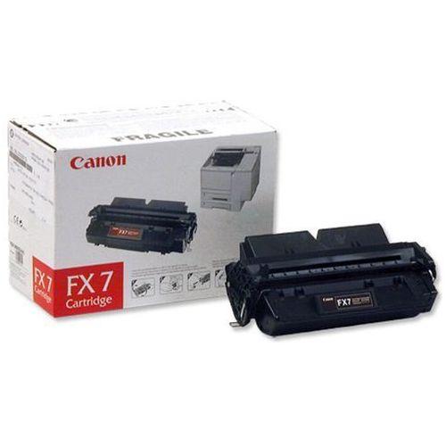 Wyprzedaż oryginał toner fx7 7621a002ba do faksów canon fax l2000l l2000ip | 4 500 str. | czarny black, pudełko otwarte marki Canon