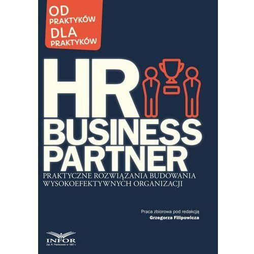 HR Business Partner Praktyczne rozwiązania budowania wysokoefektywnych organizacji (200 str.)