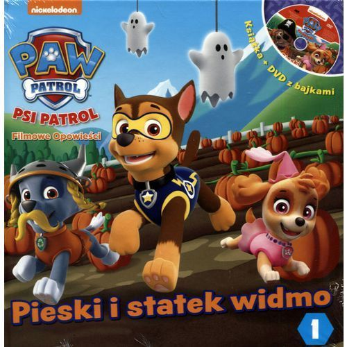 Znalezione obrazy dla zapytania Psi Patrol Filmowe opowieści 1 Pieski i statek widmo książka + DVD