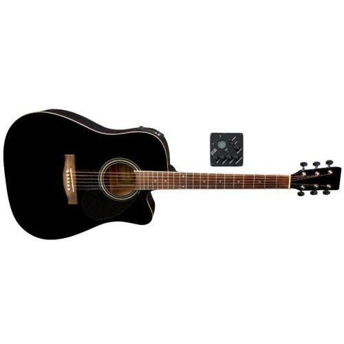 Gewa (ps501326) gitary elektroakustyczne vgs d-10 ce czarny