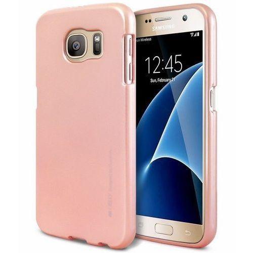 Mercury Etui I-Jelly iPhone X różowo-złoty matowy (8806164395585)