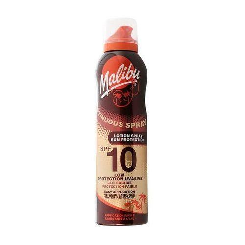 continuous spray spf10 preparat do opalania ciała 175 ml dla kobiet marki Malibu