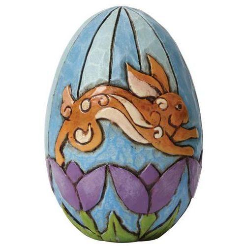 Jim shore Pisanka jajko zajączek mini character eggs 4040707 figurka ozdoba świąteczna