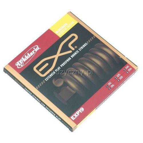 D′Addario EXP 19 struny do gitary akustycznej 12-56