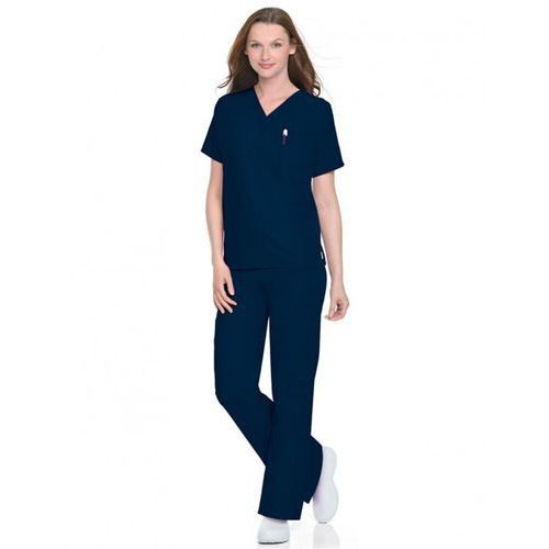 Uniwersalne (unisex) spodnie medyczne New Scrub Zone 85221 - WHITE L (odzież medyczna)