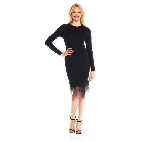 Sukienka Marika w kolorze czarnym, kolor czarny