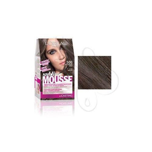 Sublime Mousse Farba do włosów nr 500 Naturalny Brąz, L'Oreal Paris