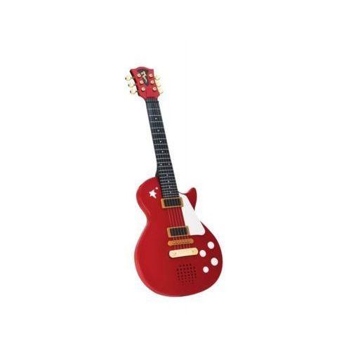 Gitara rockowa czerwona - darmowa dostawa od 199 zł!!! marki Simba