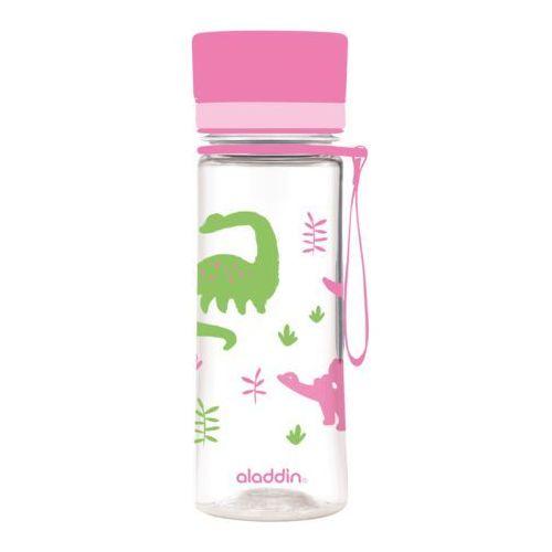 Butelka na wodę aveo kids 0.35l różowa marki Aladdin