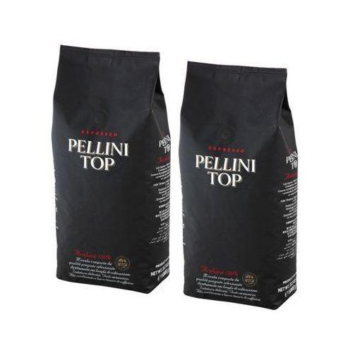 Zestaw 2x top arabica 100% kawa ziarnista 1kg marki Pellini