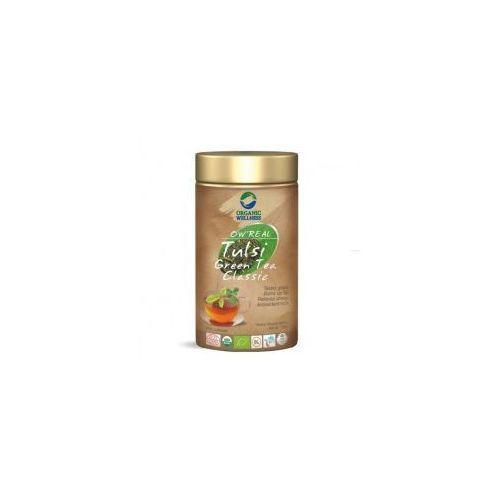 Herbata Tulsi Green Tea Organic Wellness Indie 100g