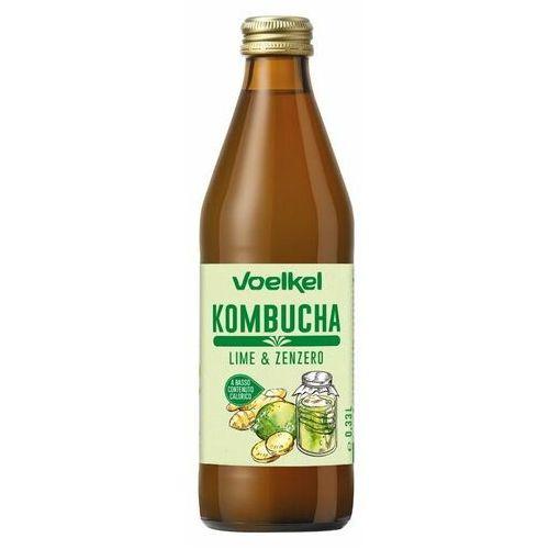 Kombucha limonka-imbir BIO 330 ml Voelkel (4015533040702)