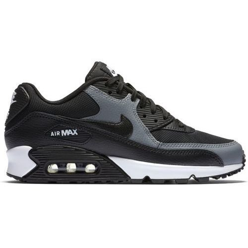 Nike NIKE Air Max 90 Lady's sneakers AIR MAX 90 LEATHER GS 833,376 010 black