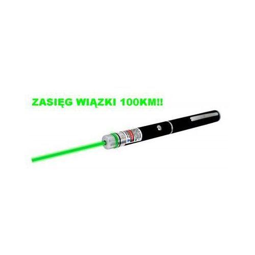 Laser zielony – zasięg wiązki 100km! + końcówka/nakładka disco. marki Fda