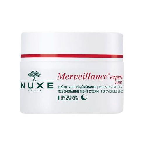 merveillance expert nuit regenerujący krem na noc redukujący widoczne zmarszczki 50ml marki Nuxe