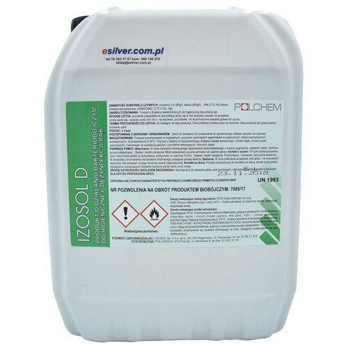 Płyn do higienicznej dezynfekcji rąk na bazie alkoholu Izosol 5L