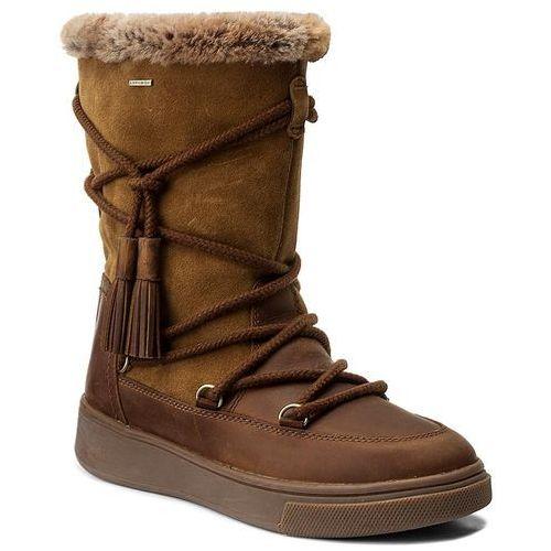 Śniegowce GEOX - D Mayrah B Abx A D743MA 04522 C6NA5 Cognac/Skin, w 6 rozmiarach
