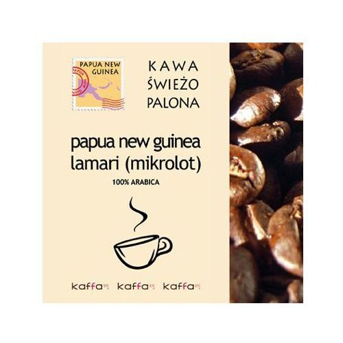 Kawa Świeżo Palona PAPUA NEW GUINEA LAMARI 250, PAPUA NEW GUINEA 250 g