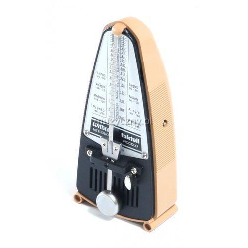 Wittner 835 903083 piccolo metronom mechaniczny bez akcentu, kolor kremowy