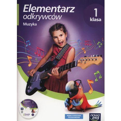Elementarz odkrywców 1 Muzyka + CD - Monika Gromek, Grażyna Kilbach (2017)
