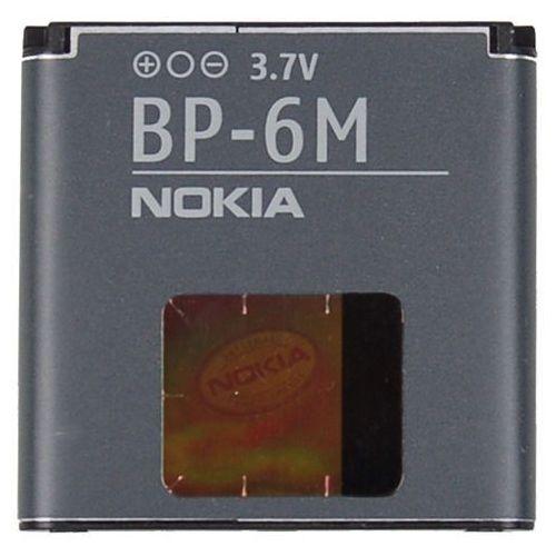 Oryginalna bateria litowo-jonowa Nokia BP-6M 1100mAh - Nokia 3250, 3250 XpressMusic, 6151, 6233, 6234 - produkt z kategorii- Baterie do telefonów