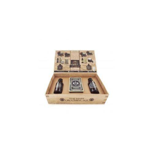 Dear Barber II Groom&Go Collection, zestaw: olejek do brody 30ml, wosk do wąsów 25ml, woda toaletowa 30ml
