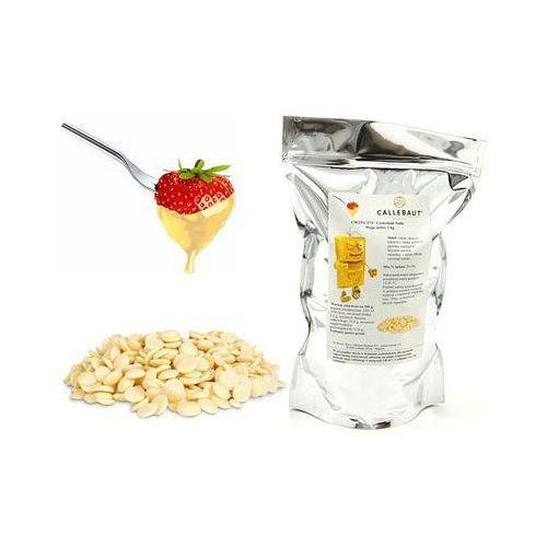 Callebaut Czekolada biała belgijska do fondue oraz fontann | 1 kg