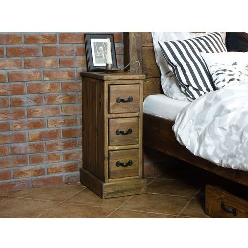 Szafka nocna sosnowa Rustyk 1, SEART furniture z Seart - Meble z Drewna