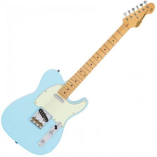 Vintage V75LB gitara elektryczna, Laguna Blue