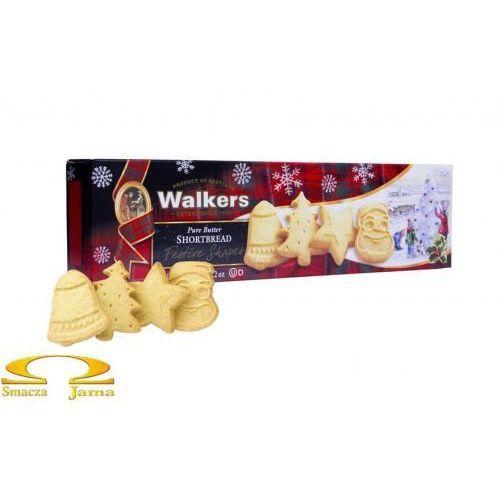 Ciasteczka Maślane Walkers Pure Butter Shortbread Świąteczne Kształty 175g, 7277-594CE