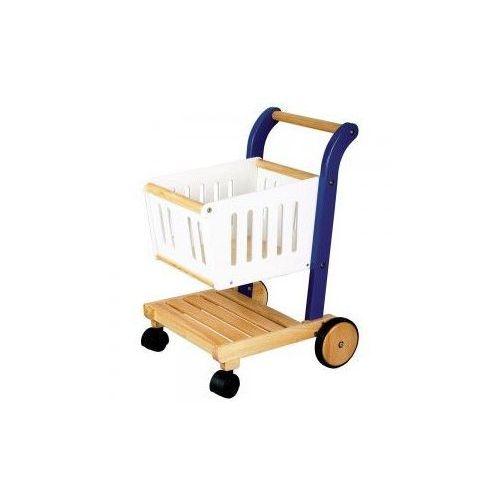Wózek na Zakupy do zabawy dla dzieci, Bigjigs (wózek na zakupy)