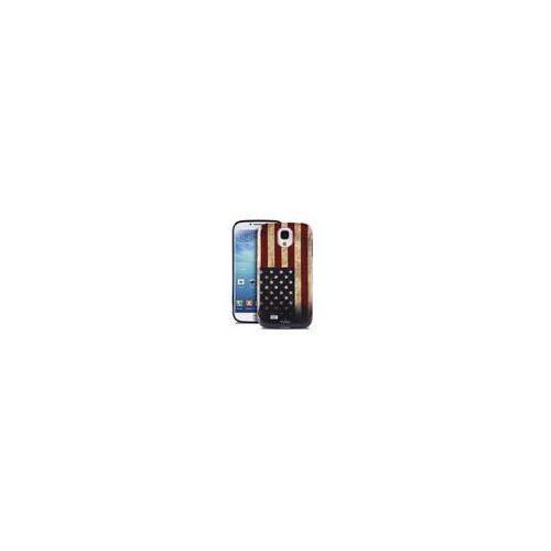 PURO Flag Cover - Etui Samsung Galaxy S4 + tapeta QR (USA) - oferta [0508427cb785d4d2]