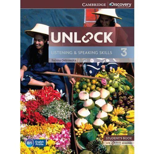 Unlock: Listening & Speaking Skills 3. Podręcznik + Online Workbook, oprawa miękka