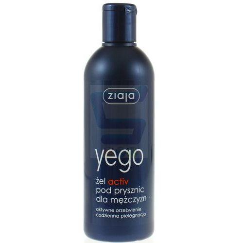 yego 300ml active żel pod prysznic dla mężczyzn marki Ziaja