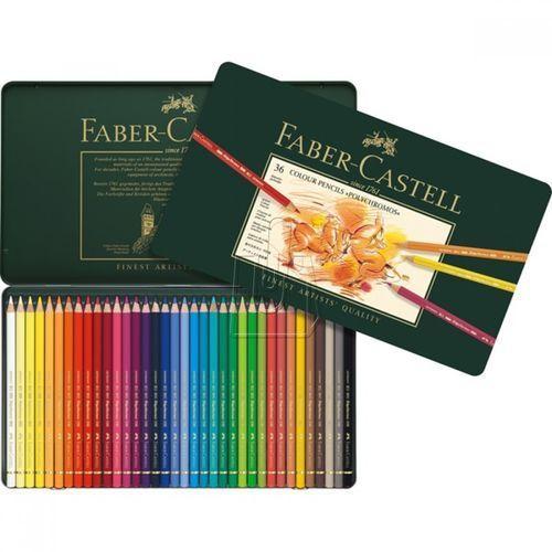 Kredki Polychromos Faber-Castell 36 kol. 110036 - wysyłka 24H, PRODUKT ORYGINALNY (4005401100362)
