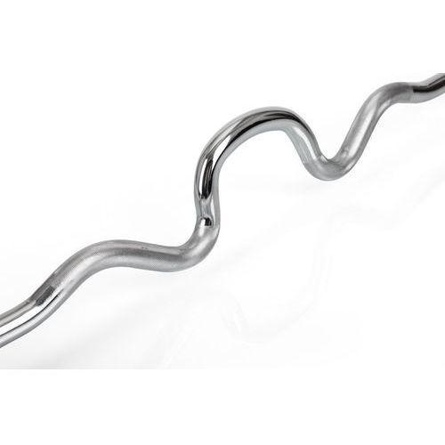 Gryf olimpijski mocno łamany 118cm (50mm) Hop-Sport ze sklepu TopSlim