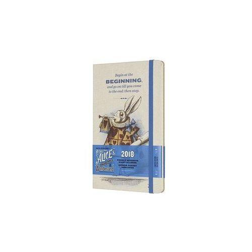 Kalendarz Moleskine 2018 Weekly, L, DENIM niebieski edycja limitowana, 1716892