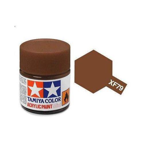 Farba akrylowa - XF79 Linoleum Deck Brown matt / 10ml Tamiya 81779
