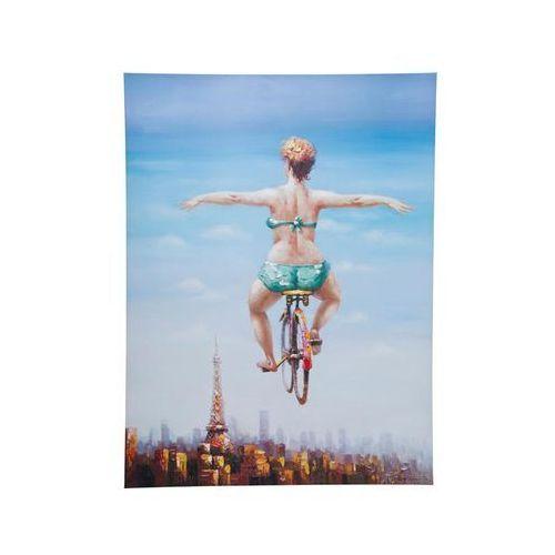 Kare Design Obraz Touched Bicycle Girl 120x160cm - 35202 (obraz)