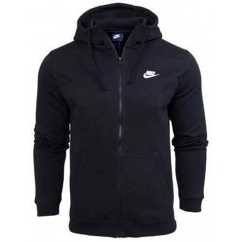 Bluza Nike meska kaptur NSW Hoodie FZ FLC Club 804389 010