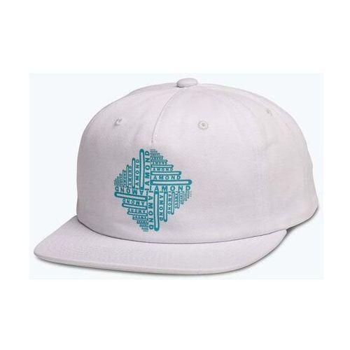 czapka z daszkiem DIAMOND - Formula Unconstructed 5-Panel White (WHT) rozmiar: OS, kolor biały