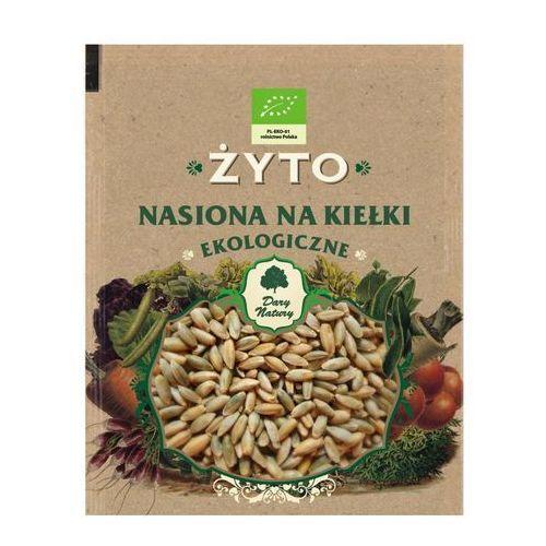 Ekologiczne nasiona na kiełki - żyto 50g marki Dary natury
