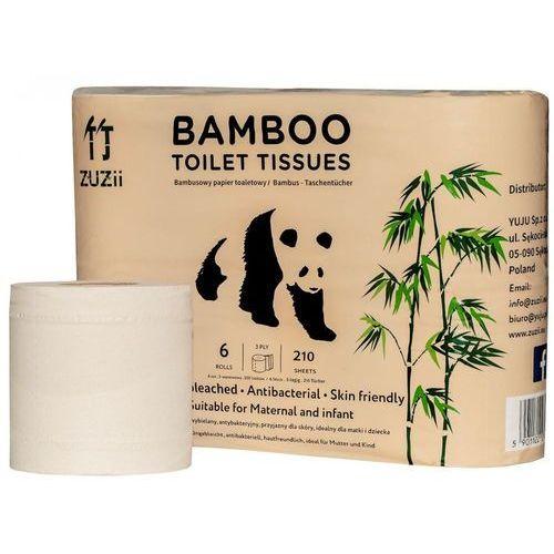 Papier toaletowy bambusowy 6szt. - Zuzii, 5901122274056