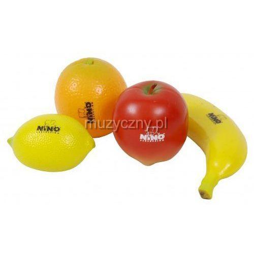 Nino set-100 zestaw instrumentów perkusyjnych (owoce)