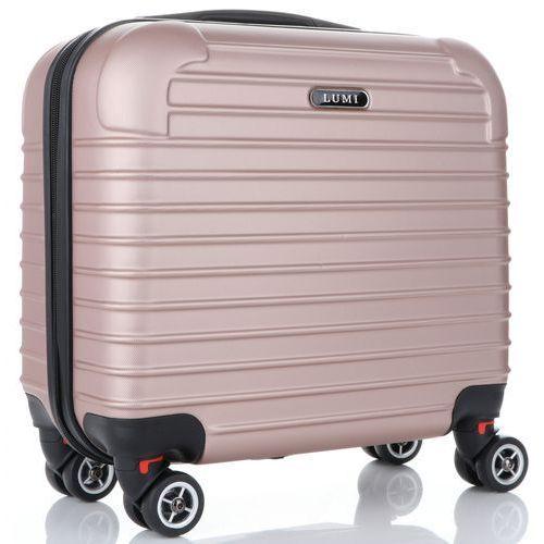 811b63e4272f9 Businessowa Walizka kabinówka 4 obrotowe kółka renomowanej marki Lumi Różowa  (kolory) 179,00 zł nowoczesna walizka kabinowa firmy Lumi to kwintesencja  ...