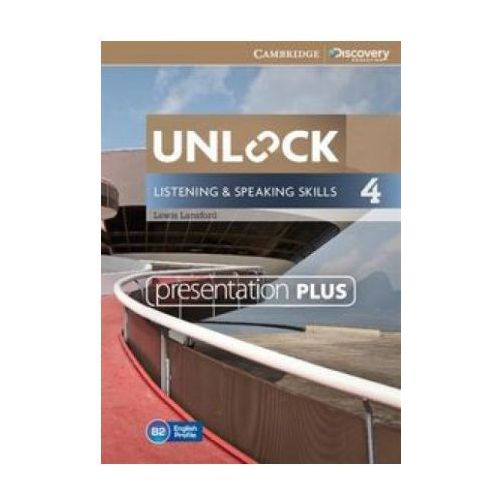 Unlock: Listening and Speaking Skills 4. Presentation Plus DVD-ROM (9781107643819)
