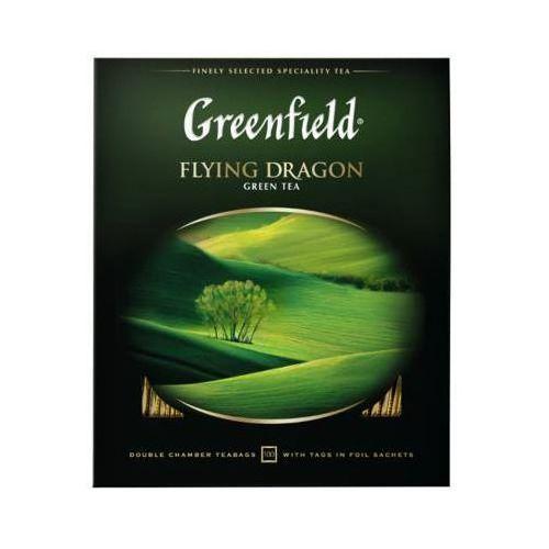 100x2g flying dragon herbata zielona ekspresowa marki Greenfield