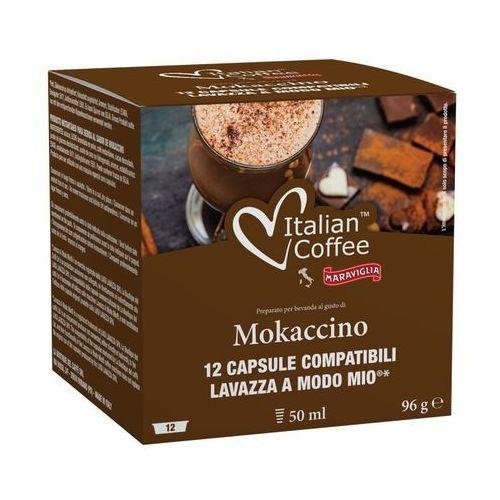 Mokaccino kapsułki do lavazza a modo mio – 12 kapsułek marki Nespresso kapsułki