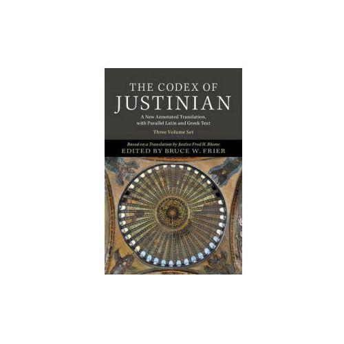 Codex of Justinian 3 Volume Hardback Set