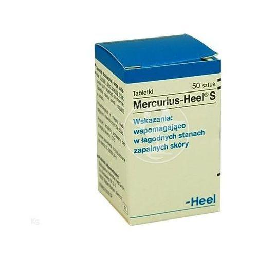 HEEL Mercurius-Heel S tabl. - 50 tabl. (pojem.) (5909990428823)